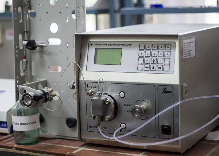 Хроматограф жидкостный «Люмахром» с флюориметрическим детектором